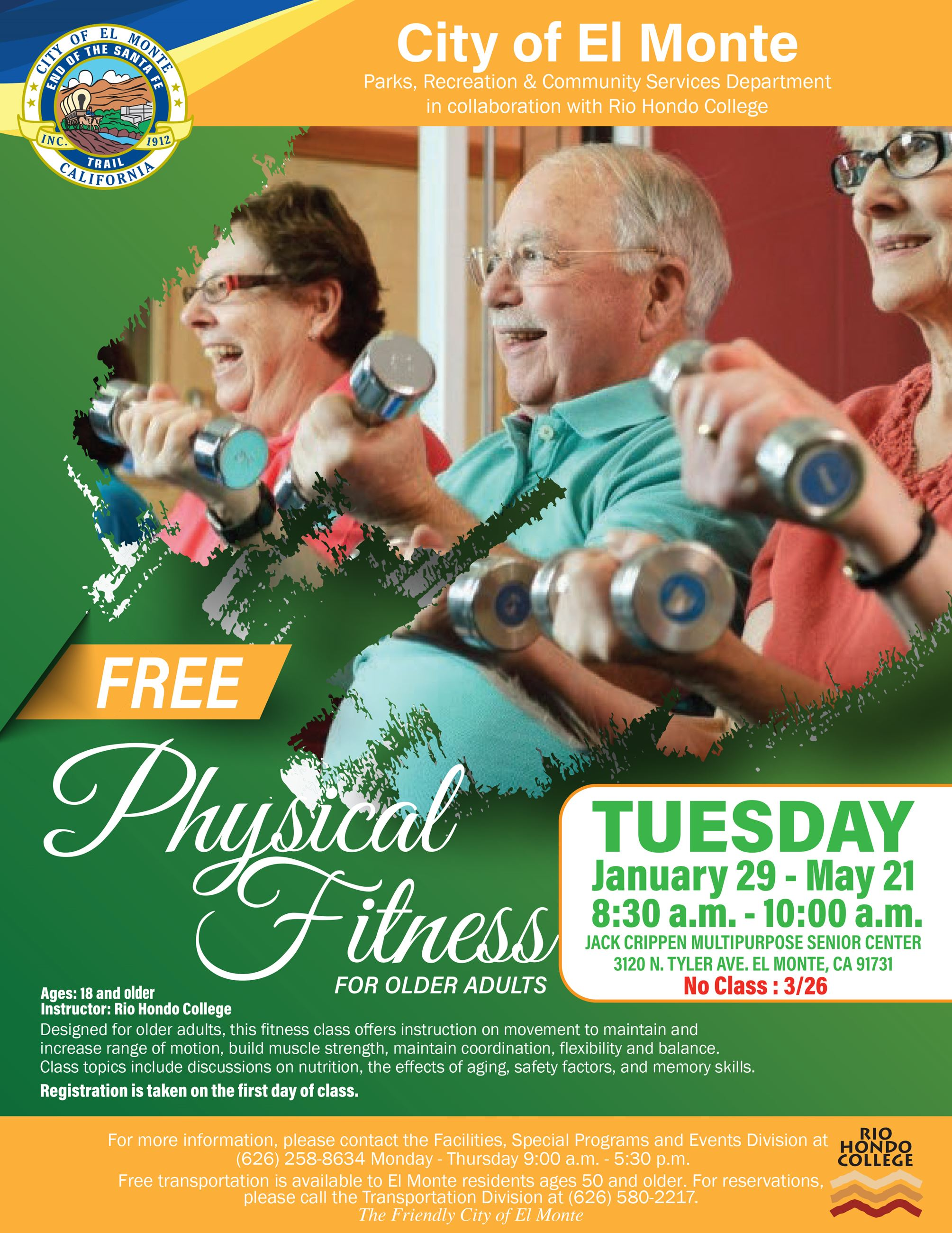 Fitness for Older Adults Flyer