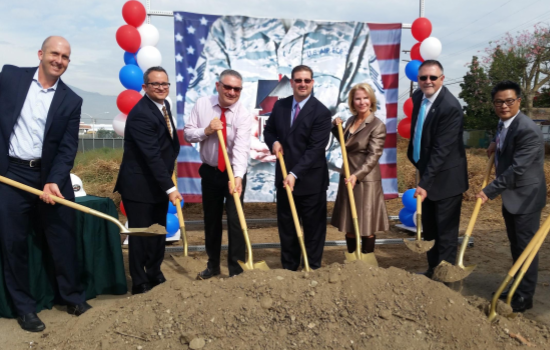 Baldwin Rose Groundbreaking Ceremony